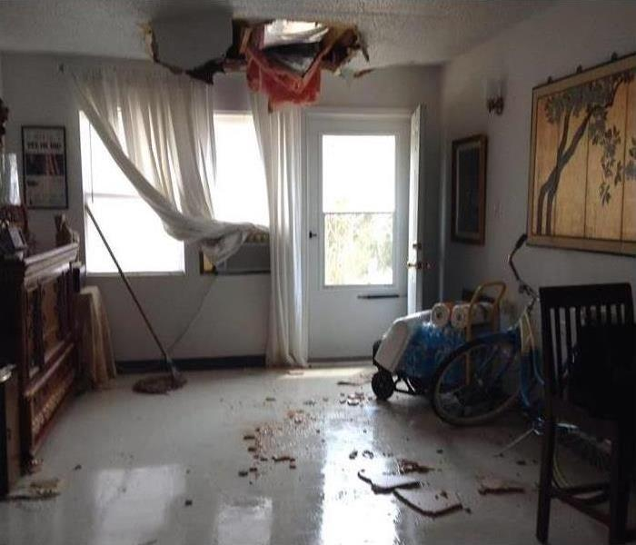 Water Damage: Assisted Living Apartments  Before