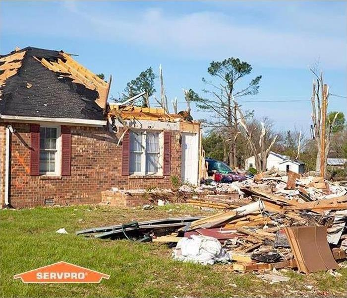 Tornado Damages Small Town Mississippi